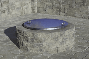 Outdoor Fire Pits - How Much Does a Stone Fire Pit Cost? | Masseo