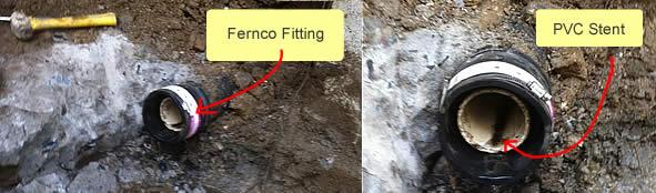 Fernco Coupling