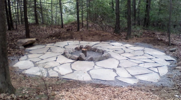 Outdoor fire pits how much does a stone fire pit cost for Prefabricated fire pits