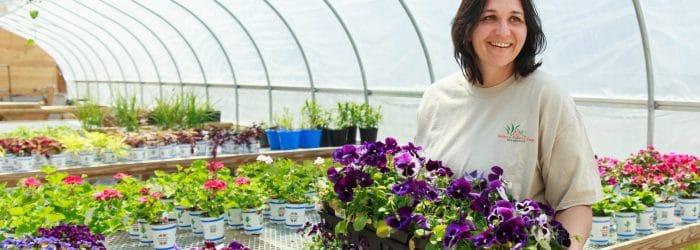 Kalleco Plant Nursery, Manager Meghan Deitz