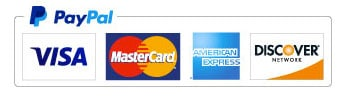 Credit card logos - what we accept.