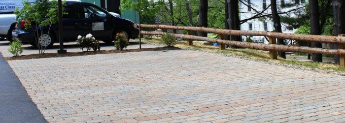 Permable Driveway Pavers Installed at Alfandre Archtecture