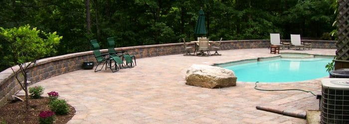 Pool Patio Contractor New Paltz NY Stone Concrete Masseo Landscape