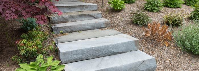 Natural Stone Bluestone Steps