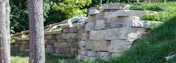 Retaining Wall Contractor New Paltz NY Stone Concrete Masseo